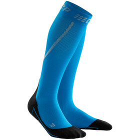 cep Winter Calze da corsa Uomo, electric blue/black